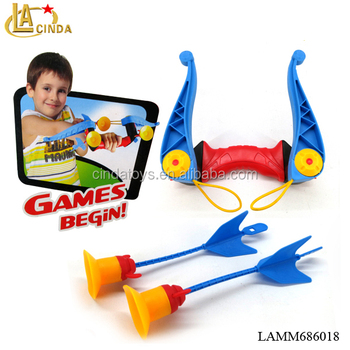 Real action game set kids shoot arrows,play bow & arrow toys for sale