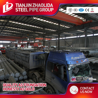 electrical wire conduit hot dip galvanized carbon steel pipe price list size galvanized
