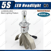 4000lm 5S h4 auto motorcycle led car light bulb