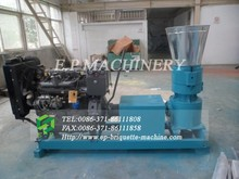600-800 kg/h diesel engine animal feed pellet machine hot selling in Italy