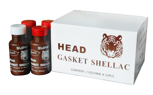 Visbella 59ml High Quality No Leak Dark Brown Slow Drying Gasket Shellac