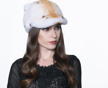 Winter new Real Whole Mink Fur casquette Hat with Real Mink Ears high Quality Luxury Casual animal real fur hats H#8