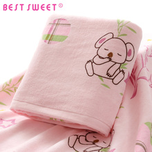 wholesale 70*140cm custom printed animal coala bath kids baby towel
