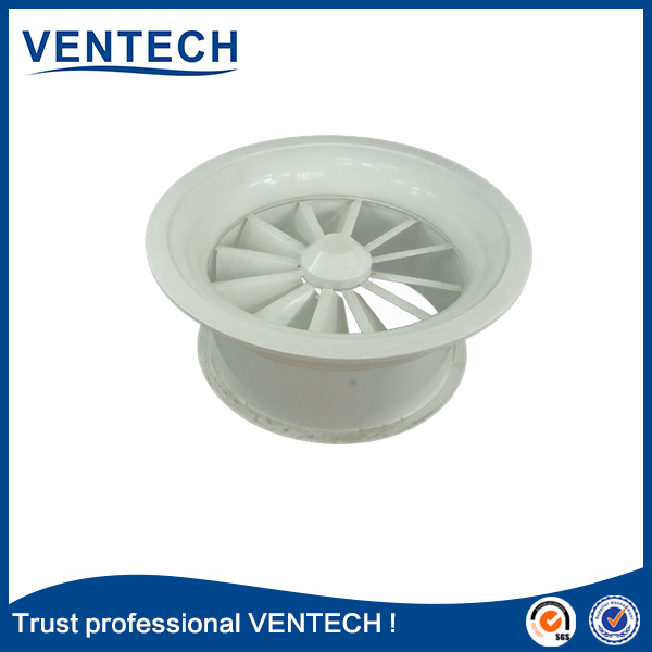 Brand Name Ventech High Quality Air Ventilation Swirl Air Diffuser