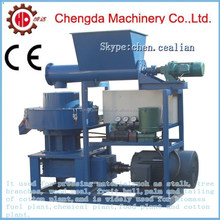 55kw ring die self lubrication wood pellet machine hard bamboo pelletizer