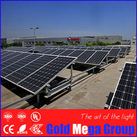 Best qulity 50w - 300w pv price monocrystalline silicon solar panel with high efficiency