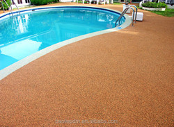 Outdoor Swimming Pool Flooring Rubber Cover