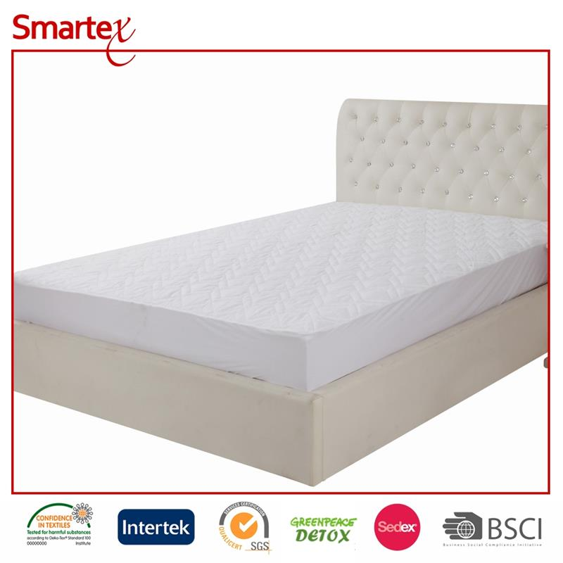 bed-wetting forbbiden tpu waterproof mattress protector with eslatic