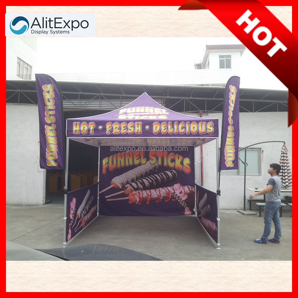 Strong aluminum structure pop up outdoor works tent/tents for sale/trade show