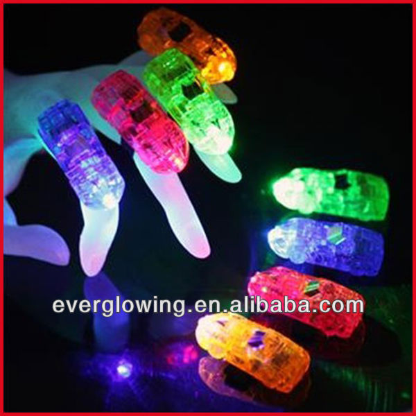 LED Party light up ring Laser Finger Light finger Beam