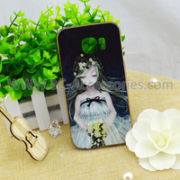 Pretty Cartoon Girl Style Used Mobil Phone Protector Case For Smartphone S6