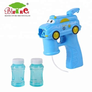kids outdoor toy bubble gun with music & light