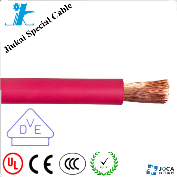VDE Standard Leading wire PVC/Rubber insulation and sheath 240mm2 fiber optic cable welding