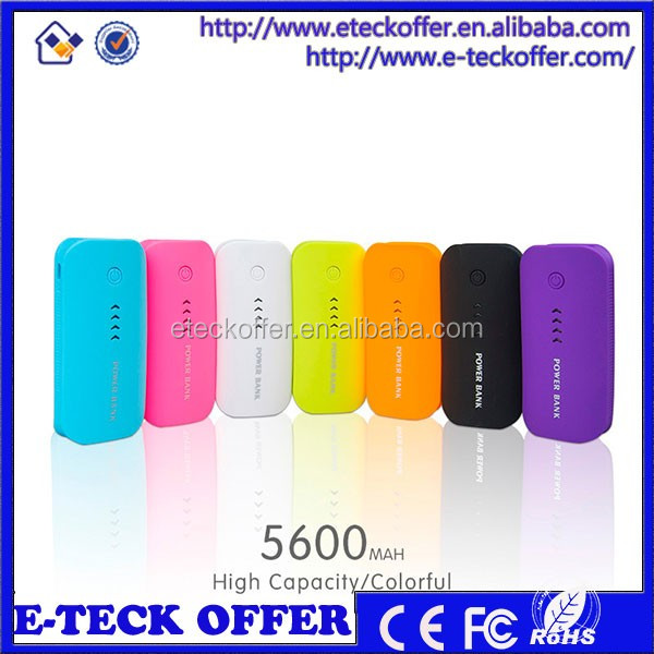 christmas gifts power bank /mobile power bank 5600mah