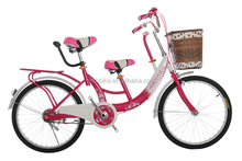 22 inch tandem bike / bicycle for mom and baby