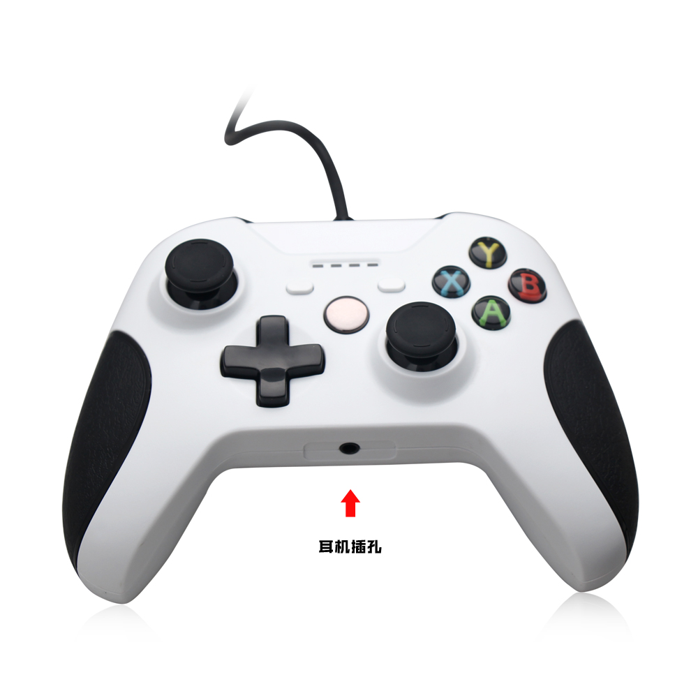 Wired Gamepad Game Controller For Xbox One Slim Joystick - Buy ...