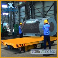 Material Handling Transfer Bogie Applied In Petrochemical Industry