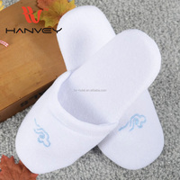 High quality beautiful and cheap popular hotel custom eva winter printed slippers