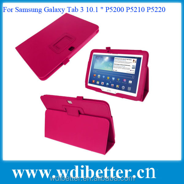 "Colorful Smart Flip Leather Case Cover For Samsung Galaxy Tab 3 10.1 "" P5200"