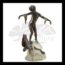 high quality bronze sea turtle fountain