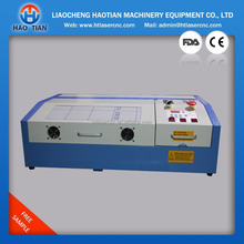 mini Laser engraving/cutting machine 300*200 mm engrave signs pattern on electronic parts