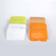 Recyclable Wet Wipe Lids which can be used repeatedly