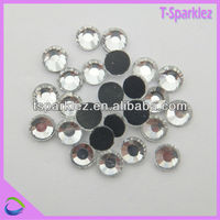 AA grade crystal rhinestone clear glass artificial stone for aquarium