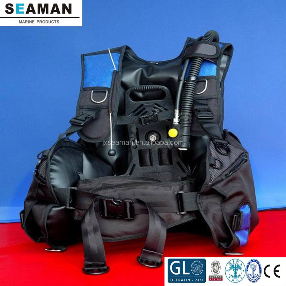 buoyancy control device scuba diving with CE BCD ABLJ for diving training