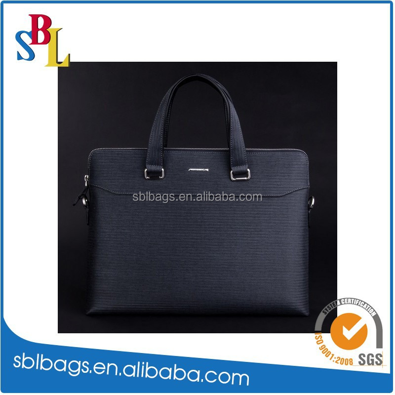 2015 New Design Men's Leather Briefcase Laptop Bag / Portfolio Business Bag / Document Bag