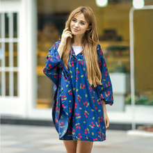 AliExpress Hot Selling 100% Waterproof Fashion Printing full body raincoat For Women With waterproof coating
