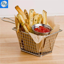 Mini Stainless Steel Wire Mesh French Fry Basket