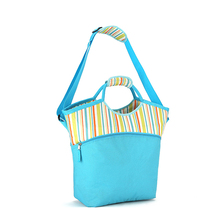 2017 New Style Hot Sales Shopping Ice Bag Insulated Cooler tote bags with 600D printed polyester