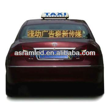 wholesale alibaba express wireless control 12v/24v message moving scrolling car led moving sign