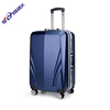 wholesale ABS+PC rolling suitcase aluminium travel luggage