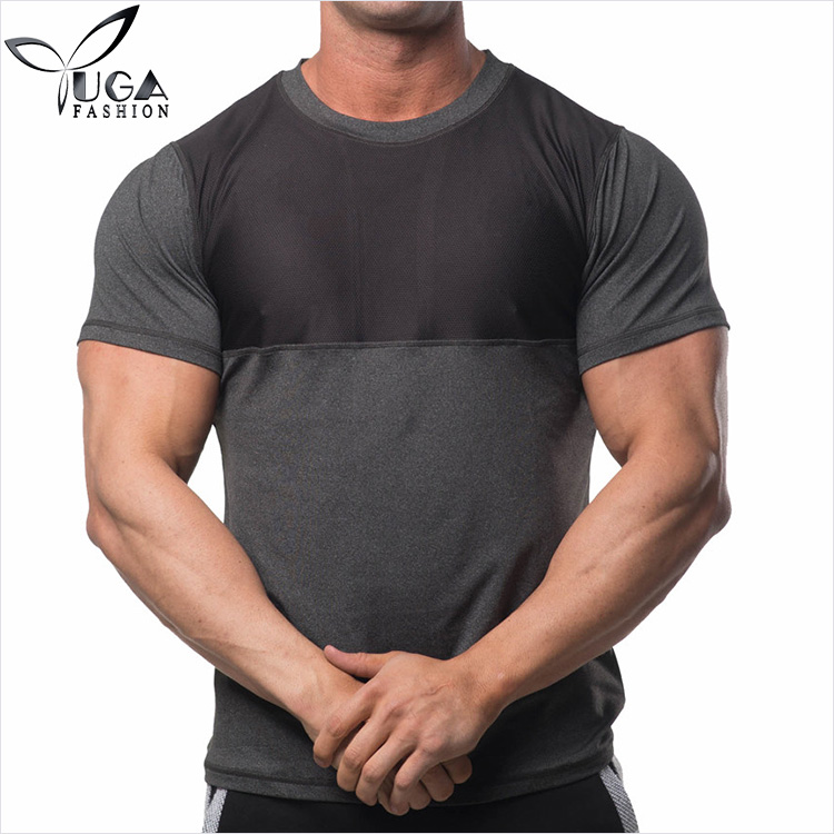 Wholesale New Edition Neon Nylon Spandex No Logo O Neck T Shirts for Gym