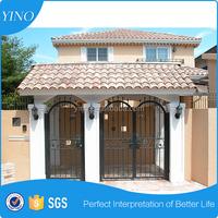 Home & Garden gates wrought iron sliding door design IG-1-038