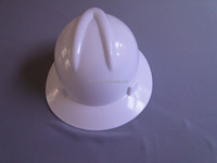 V-guard safety helmet with full brim/Full brim hard hat for head protection