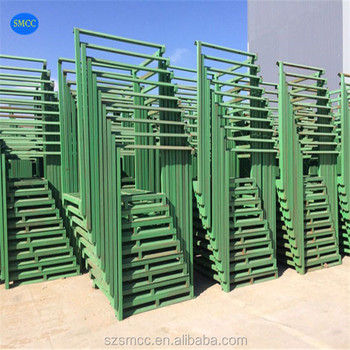 Supermarket Warehouse Metal Cage Foldable Pallet Storage Cage
