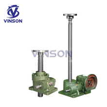 high quality 15 ton mechanical worm gear screw jack