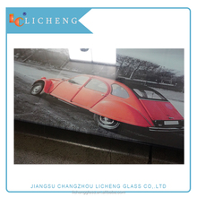 4-19mm Tempered Painted Glass/Silk screen printing glass