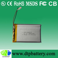 3.7v 3500mah lithium ion tablet pc battery