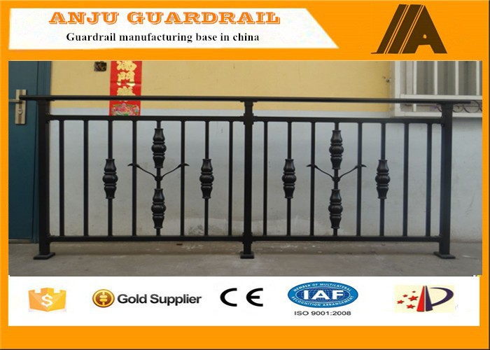 Non-welded easy install Decorative steel deck railings YT008