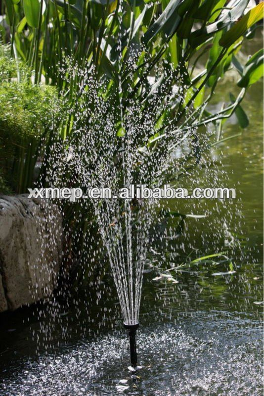 Floating Lotus Lily Solar Fountain Electrical Pump