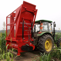 Silage corn stalk shredder machine/forage combine harvester/straw corn stalk cutting recycling machinery