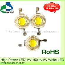 High Quality high power led 1w 150lm