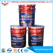 Factory Supply Polymer Cement JS Waterproof Roof Coating in Low Price