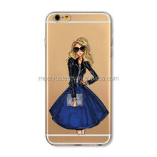 Brand new hard shell for ipad Fashion Girl Designs Phone Case