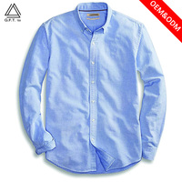 100% combed cotton for men long sleeve casual shirts,OEM ,slim fit , no iron and wrinkle free