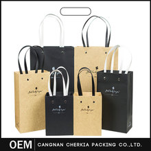 Customized top quality shopping hot sale paper bag for shopping