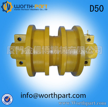 Bulldozer undercarriage parts D50 track roller